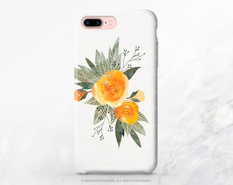 iPhone X Case iPhone 8 Case iPhone 7 Case Floral Rose iPhone 7 Plus Case iPhone SE Case Tough Samsung S8 Plus Case Galaxy S8 Case I198