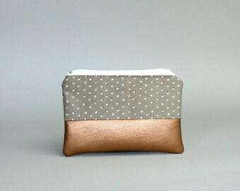Mini Bag-eye Kuper-cosmetic bag-pencil-makeup bag-Make up bag-case-small bag-purse-vegan
