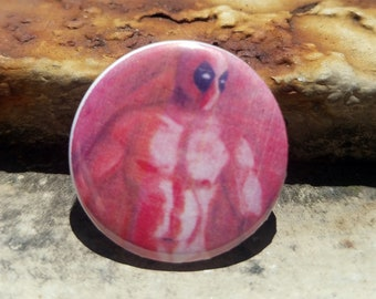 CWA Deadpool Portrait 1 inch Button