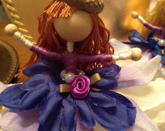 Bendable ,waldorf inspired, one of a kind, fairy