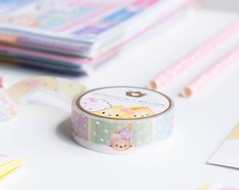 "Birthday Washi - ""Birthday Rainbow"" [Rainbow Washi, Confetti Washi, Pastel Washi] // The Birthday Collection - W068"