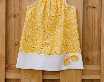 Bumblebee Pillow Case Dress
