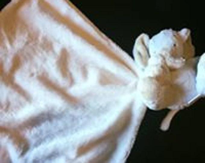Baby Lovie, Monogrammed Lovie, Baby Gift, Personalized Baby Gift, Elephant Lovie, Elephant Baby Gift