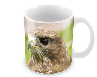 Buzzard   Ceramic Coffee Mug    Free Personalisation