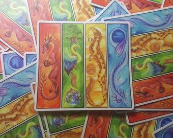 Elemental Dragons Sticker