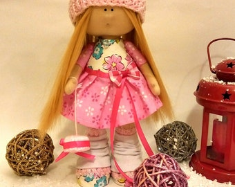 Handmade Doll- Doll by Viera!