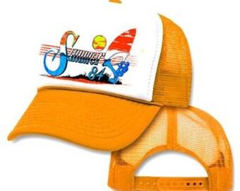 SUMMER OF '84 Mesh Snapback Mesh Trucker Hat Cap