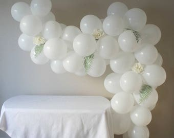 White Balloon Art Kit