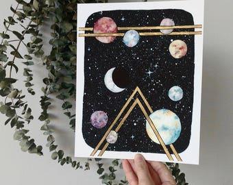 Planet Studies III - PRINT