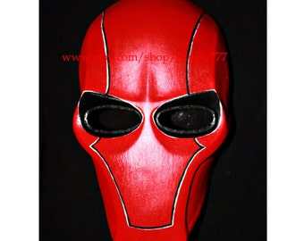Army of two mask, Paintball airsoft mask, Halloween mask, Steampunk mask, Halloween costume & Cosplay mask, S2 red hood MA13 et