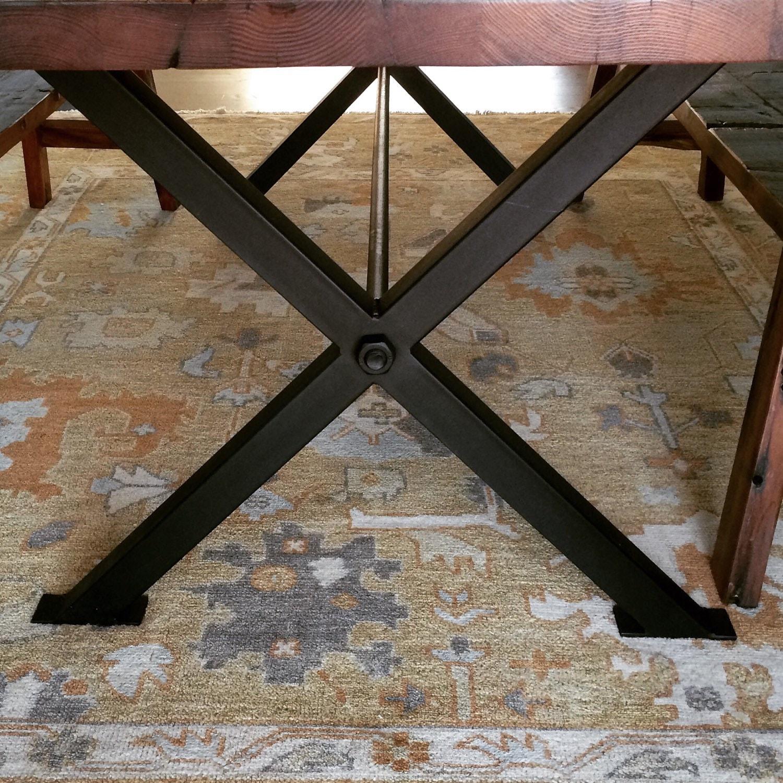 Charmant X Metal Table Legs