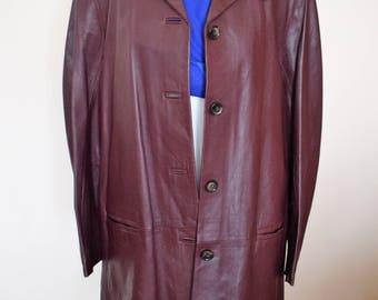 Brand new purple leather jacket. Womens leather jacket