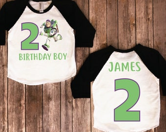 Buzz lightyear birthday shirt, toy story birthday shirt, toy story shirt, buzz lightyear, toy story party, toy story shirt, ANY NAME & #