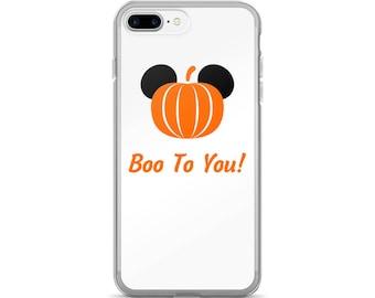 Boo to You phone case | Disney phone case | Disney Halloween | Halloween | Mickey Pumpkin