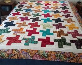 Batik Criss-Cross