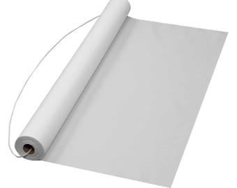 """Wedding Aisle Runner White Plain Plastic 36""""x 75ft. 1.7 mil thick"""