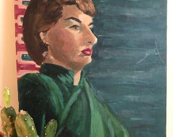 Mid-Century Portrait of a Woman