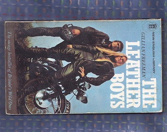 THE LEATHER BOYS vintage paperback book