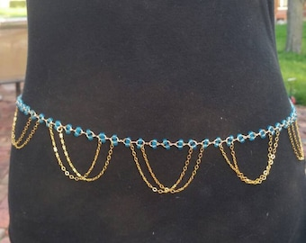 Beaded Belly chain