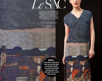 "Silk crepe fabric with house style, Digital printing silk fabric, wedding fabric-FSJH- 55""/140 cm Wide"