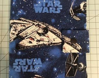 Play Pack Activity Case / Travel Activity Pouch / Marker Pencil Pouch / Crayon Case / Pencil Pouch  - Star Wars