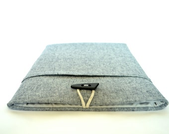 "Custom Fit Laptop Cover, Dell XPS 13 Case XPS 15 9550 Windows 10 or 11.6 Chromebook Sleeve, 12"", 13"" New MacBook Cover, - Indigo + Slate"
