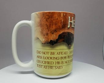 "Easter Mug - ""He has Risen"" (3 of 4)"