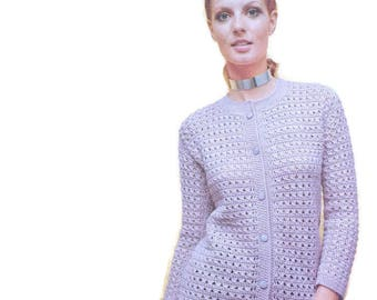 Crochet Sweater Pattern Download Crochet Pattern Digital Download Crochet Cardigan Pattern PDF Pattern Crochet Patterns Winter Fashion