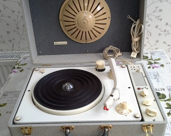 Vintage French Record Player
