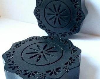 Charcoal Soap ~ Detox Soap ~ Facial Soap ~ Activated Charcoal Facial Soap ~ Black Soap ~ Handmade Soap ~ Organic, Vegan Soap