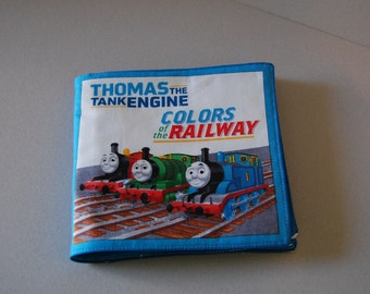 Thomas the Tank Engine ~ Colors of the Railway Fabric Book