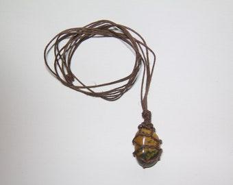 Healing Macrame Stone Necklaces