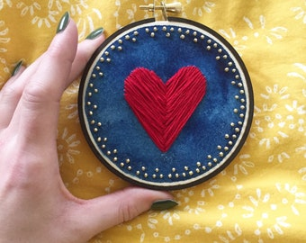 Red Heart embroidery
