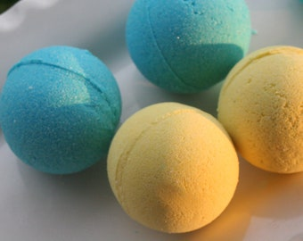 Multi Pack Bath Bomb Set All Natural  Custom Made  You Pick The Scents