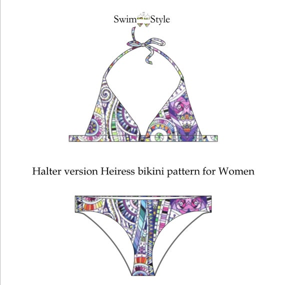 Heiress Women s bikini sewing pattern from Swimstylepatterns on Etsy ...