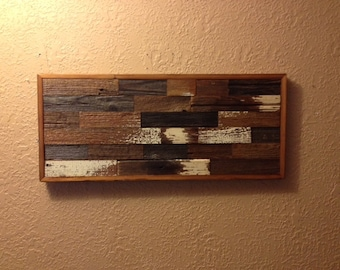 Reclaimed Barn Wood Rustic Wall Art/Wall Decor