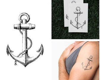 Submerged - Temporary Tattoo (Set of 2)