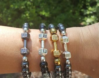 Fitness Macrame Bracelets