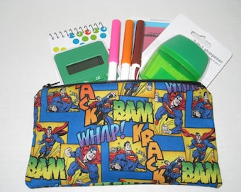 Superman Super Hero Pencil Case