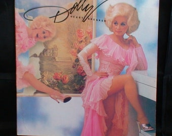 Dolly Parton Vinyl Record!  HeartBreaker! 1978!  LP!