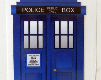 Doctor Who TARDIS Sticker Decal