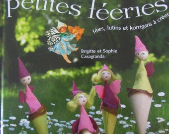 """Book """"Little enchantment"""" - fairies, elves and goblins to create - 20 designs"""