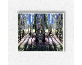 digital download art,fine art,home decor art,tree landscape art,tribal wall art,tree desk art,rustic wall art,coffe art,fish pond