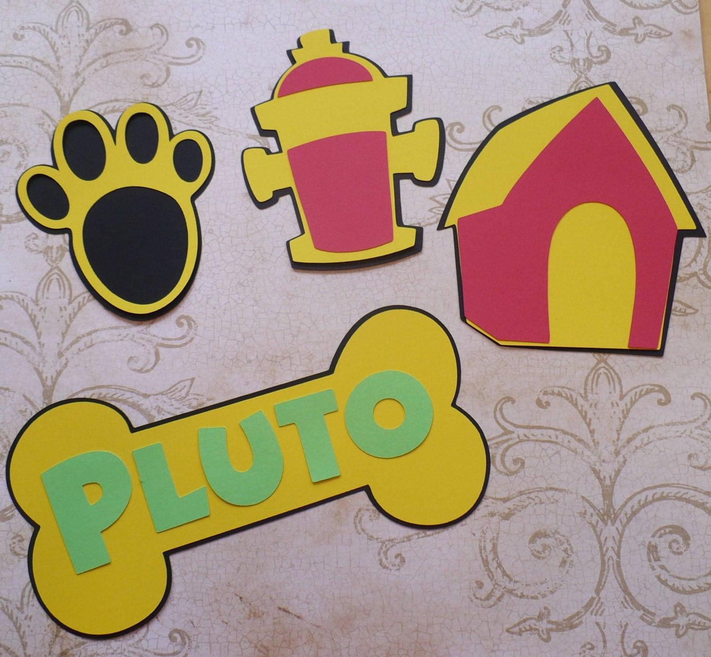 DIY Mickey Mouse Pluto Dog Bone House Paw Fire Hydrant Make