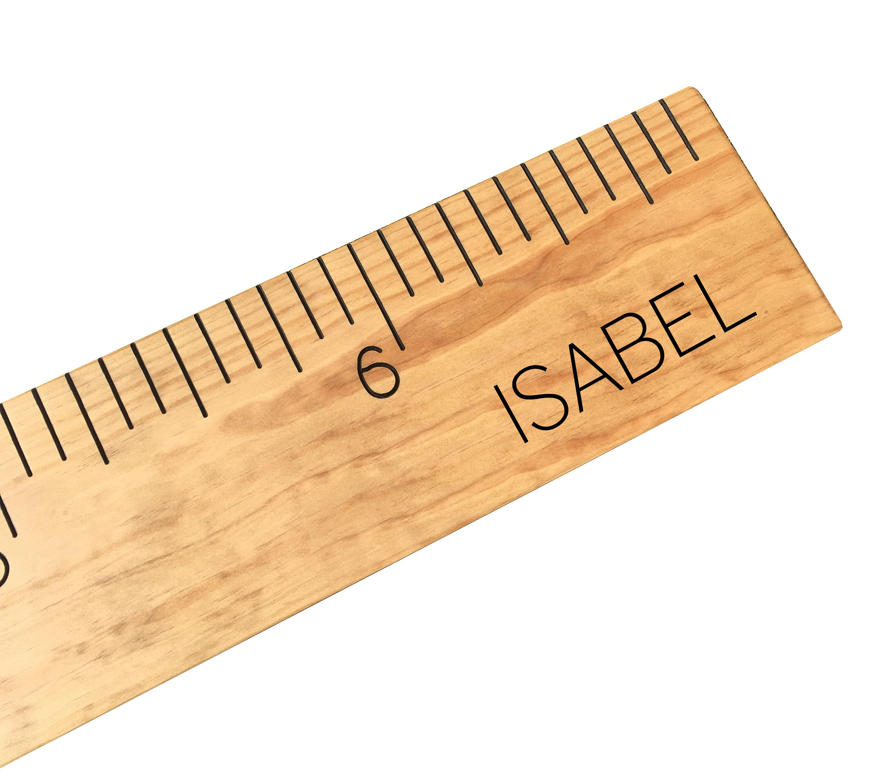 Custom growth chart growth chart measuring stick wooden request a custom order and have something made just for you nvjuhfo Choice Image