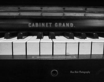 Piano Keys-Blank Notecards-6 pack