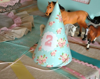 Shabby Chic Farm Party Hats