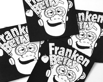 Frankenberry Patch, Frankenberry, Franken Berry, Breakfast Cereal, Monster Cereal, Count Chocula, Boo Berry, Yummy Mummy, 1970s, Nostalgia
