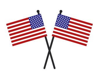 United States flag illustrated in Vector and downloadable in JPEG, EPS, AI, svg