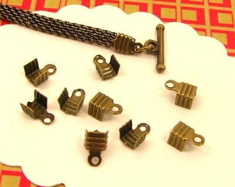 60 AB56X2 bronze cord ends